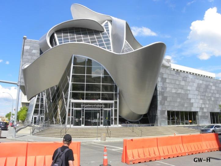 Contemporary art gallery in Edmonton